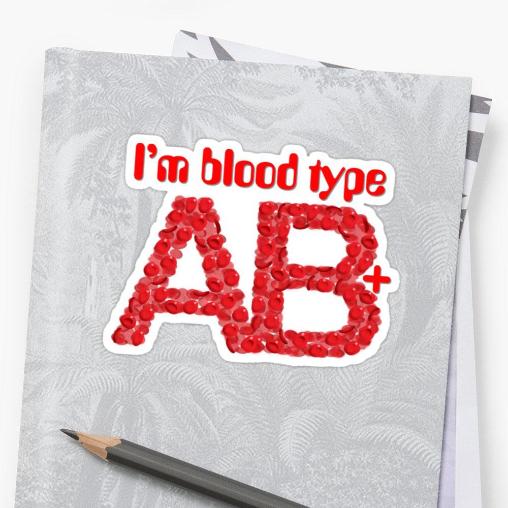 Nhóm máu AB Rh+