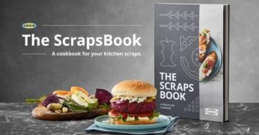 ikea scrapsbook food scraps cookbook