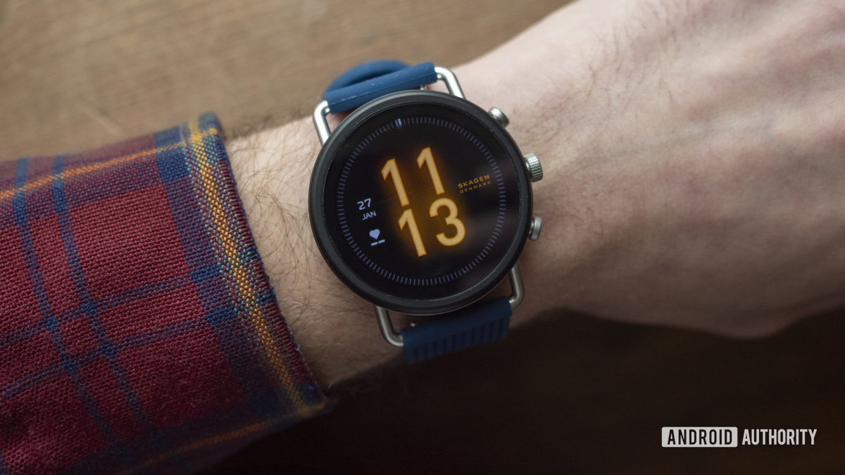 Skagen falster 3 đánh giá mặt đồng hồ trên cổ tay 2