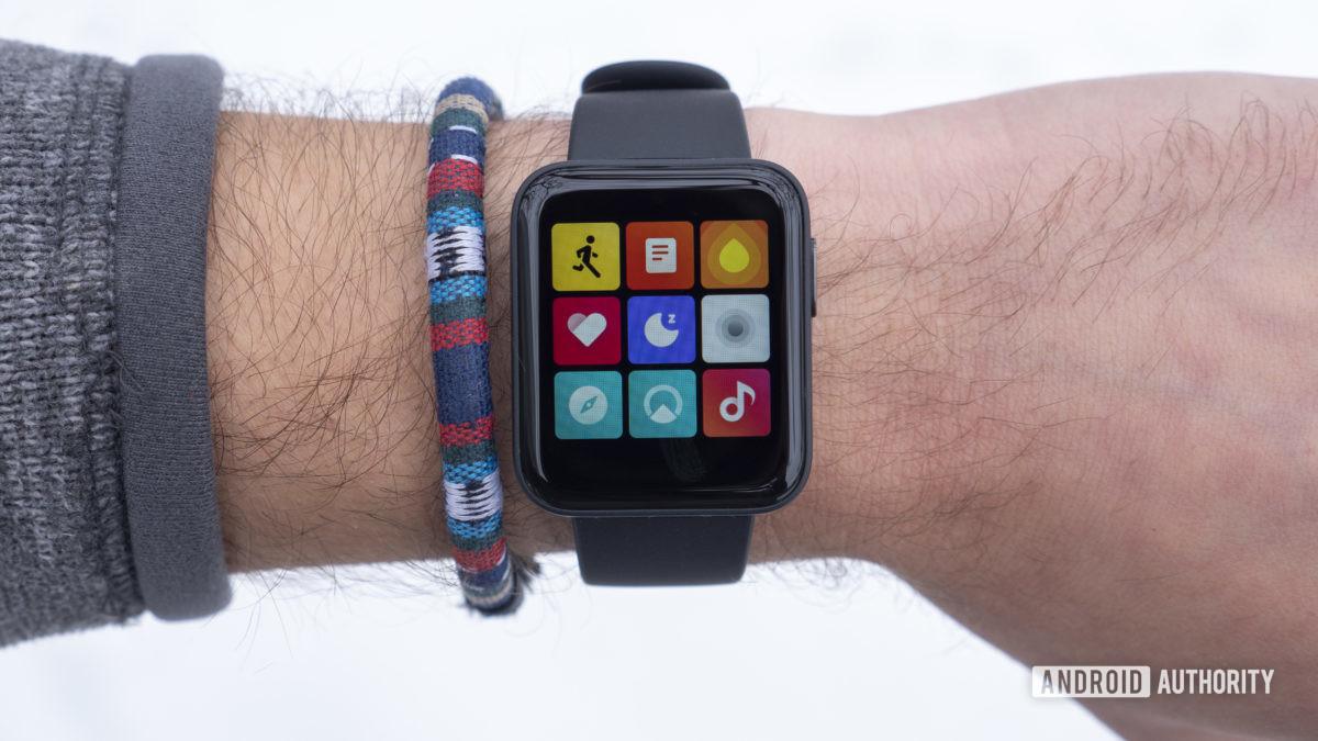 xiaomi mi watch lite xem lại tất cả màn hình ứng dụng