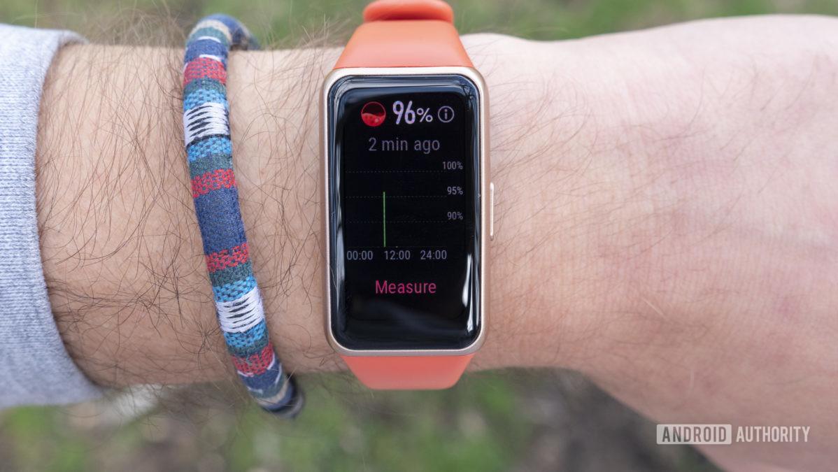 Đánh giá Huawei Band 6 spo2 oxy máu