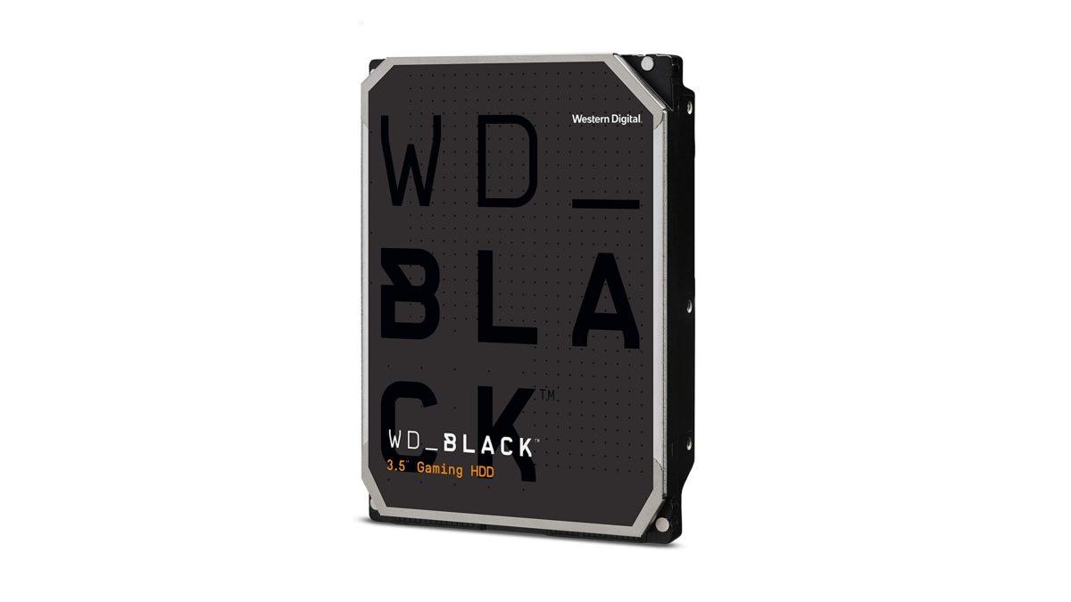 Ổ cứng WD Black Performance trên nền trắng