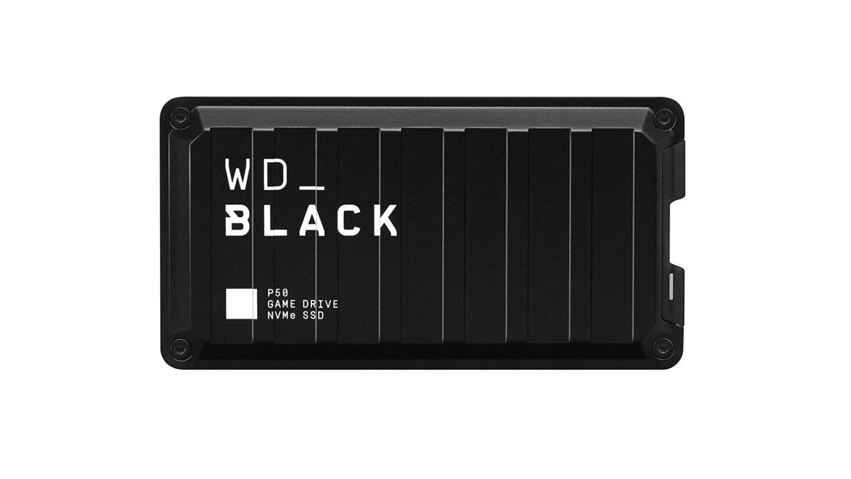 WD Black P50 SSD trên nền trắng