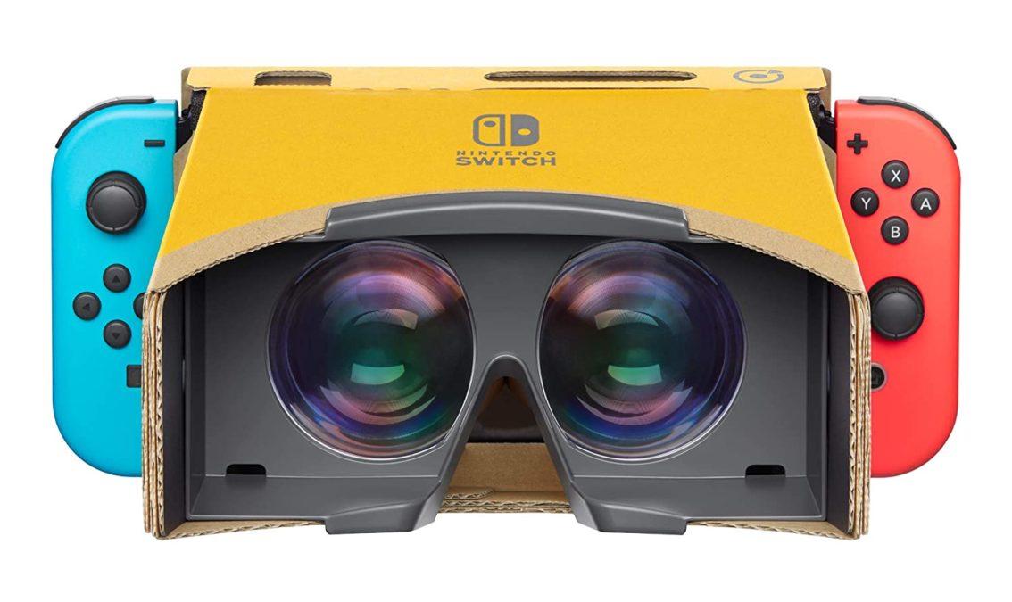 Nintendo labo VR Kit dành cho thiết bị di động VR