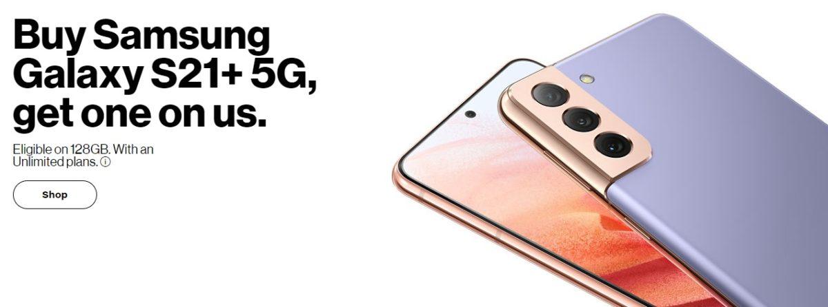 Ưu đãi Verizon Galaxy S21