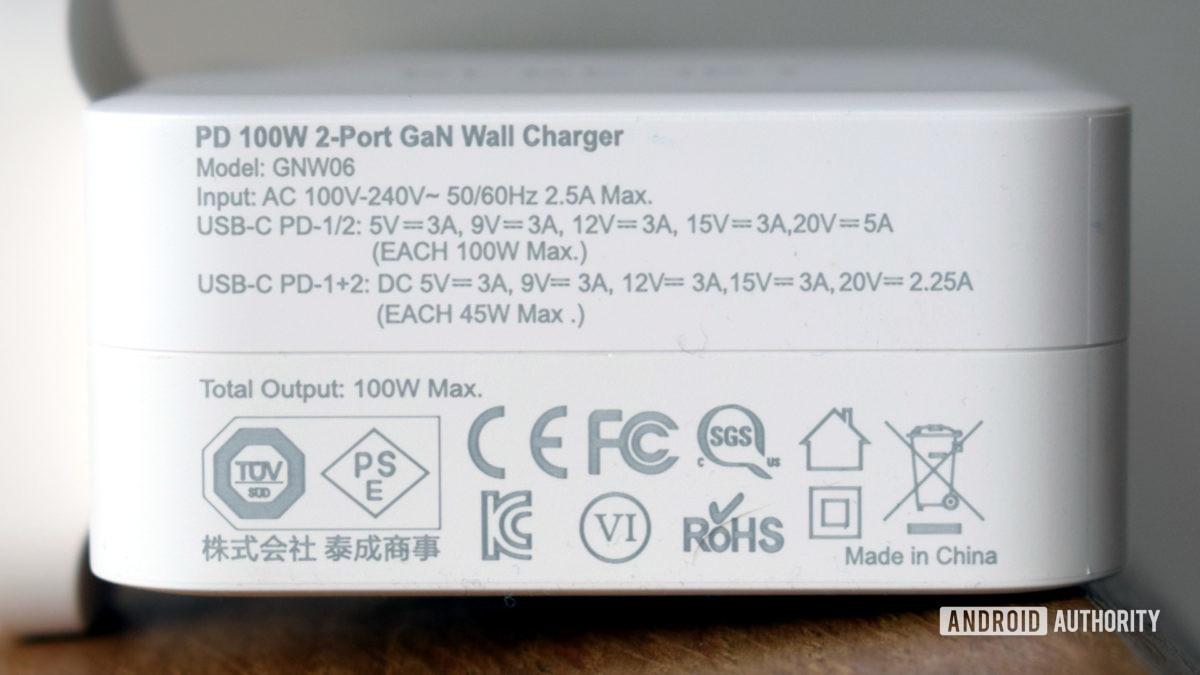 Đánh giá thông số kỹ thuật của Bộ chuyển đổi nguồn Electjet 100W USB C PD