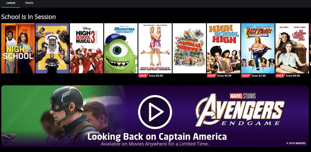 Ứng dụng LG Smart TV Movies Anywhere