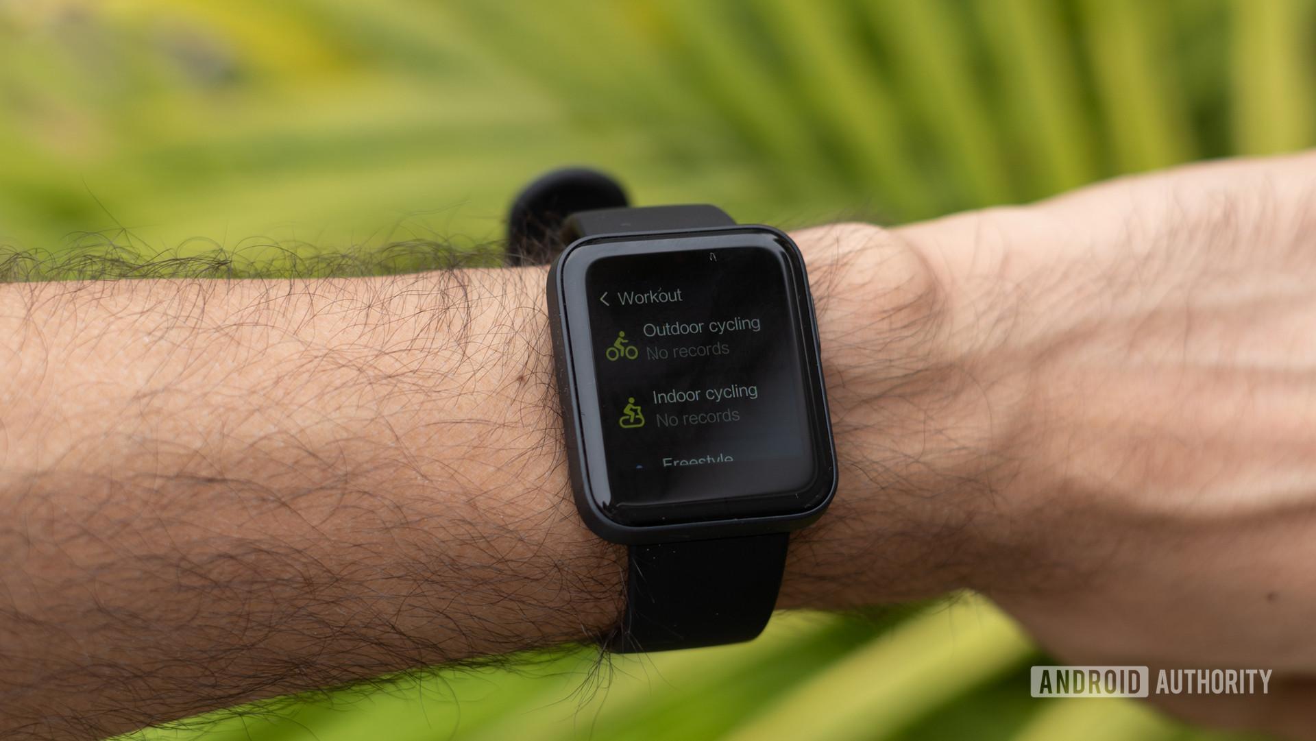 Redmi Watch đánh giá các chế độ thể dục