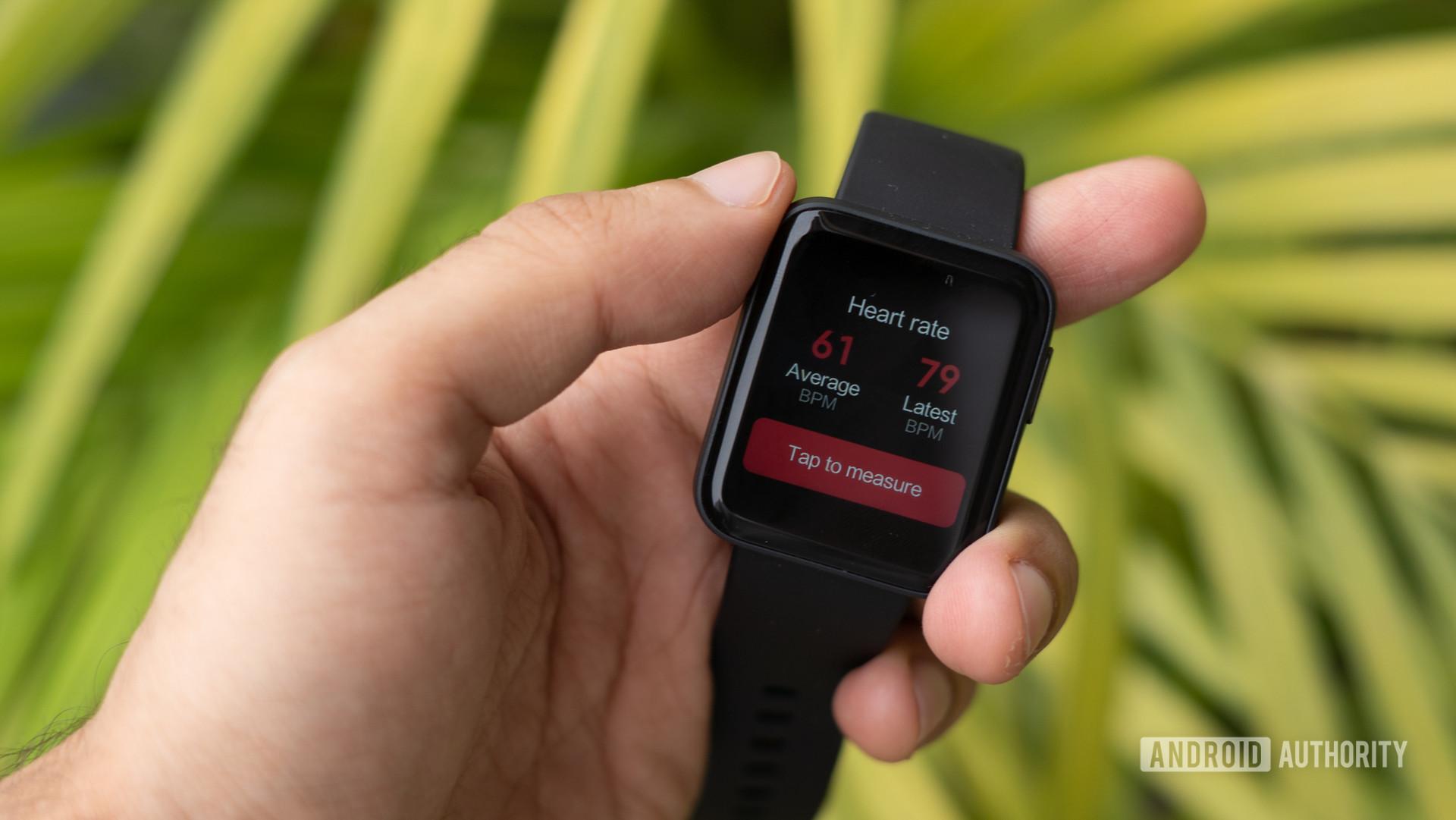 Đánh giá Redmi Watch hiển thị nhịp tim