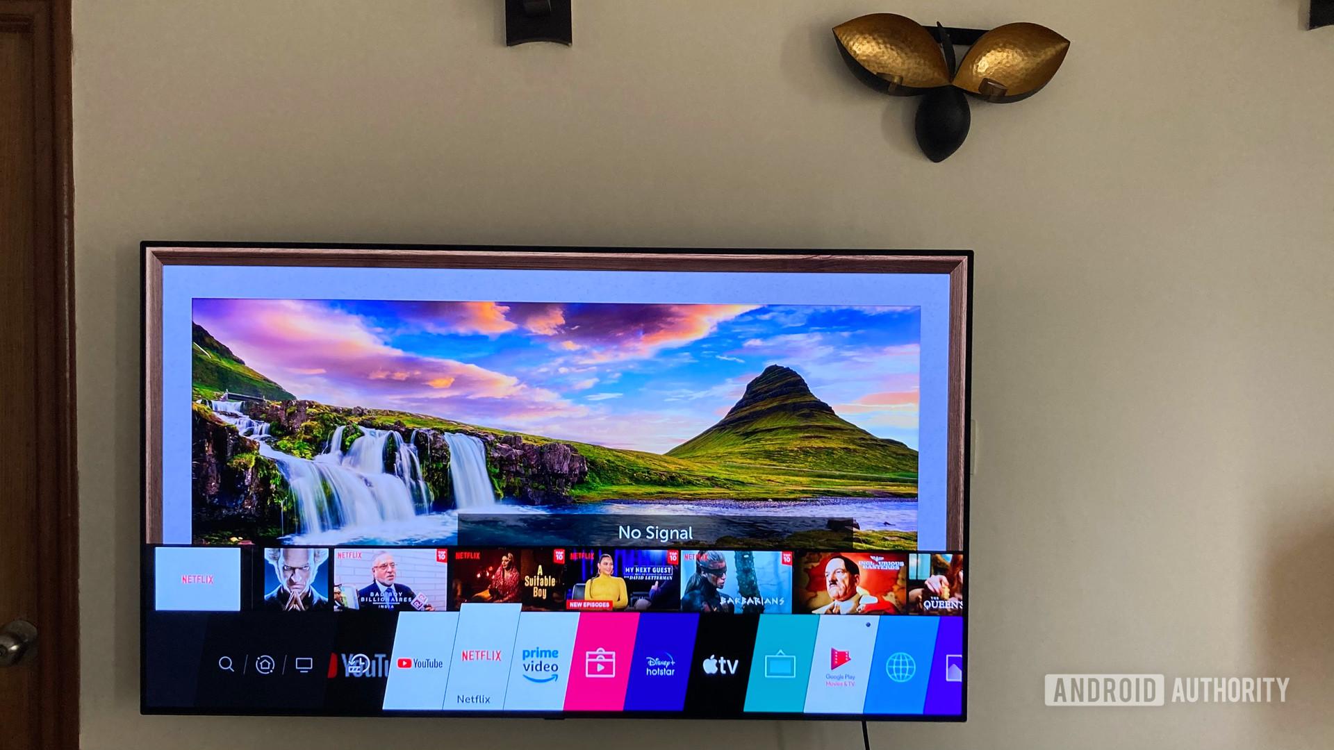TV hệ điều hành web của LG