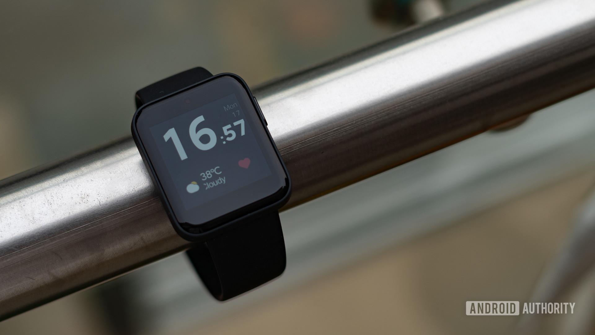 Redmi Watch đánh giá mặt đồng hồ