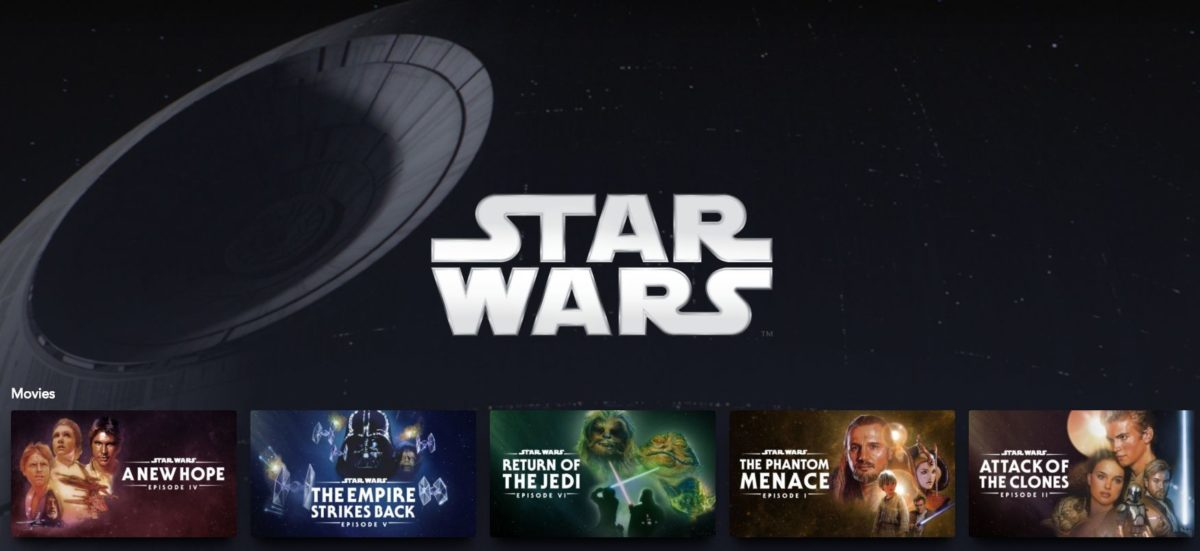 Disney cộng với chiến tranh giữa các vì sao