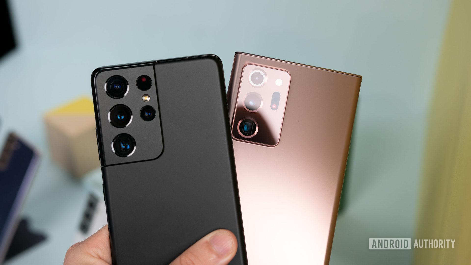 Samsung Galaxy S21 Ultra và Samsung Galaxy Note 20 Ultra 1