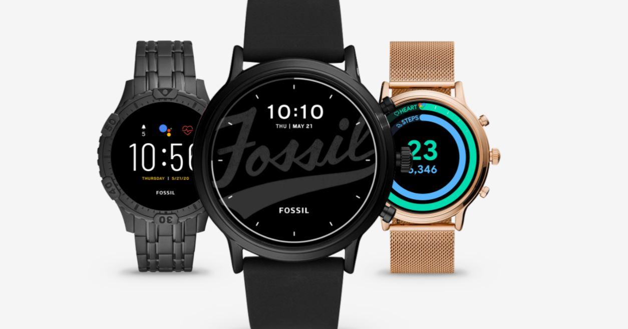 Hình ảnh quảng cáo đồng hồ thông minh Fossil thế hệ 5E