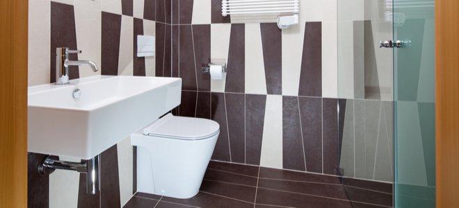 gạch phong cách trang trí nghệ thuật trong phòng tắm