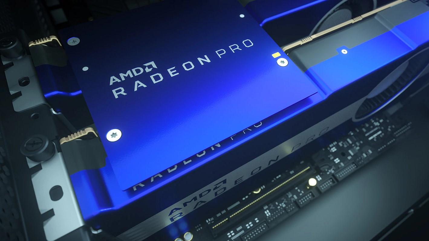 Đã cài đặt GPU AMD Radeon Pro series Radeon Pro VII