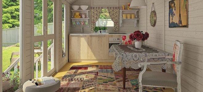 nội thất nhà nhỏ nhẹ với đồ đạc