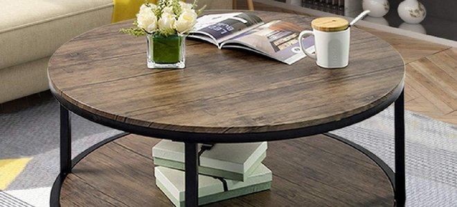 bàn cà phê tròn