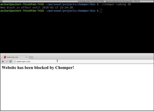 Chomper dành cho Linux