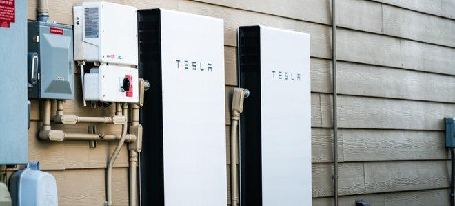 Pin năng lượng tái tạo Tesla