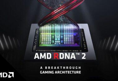 AMD RDNA 2 GPU architecture graphic