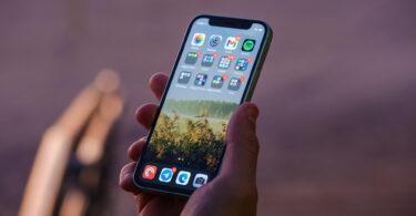 iPhone 12 Mini screen in hand 1