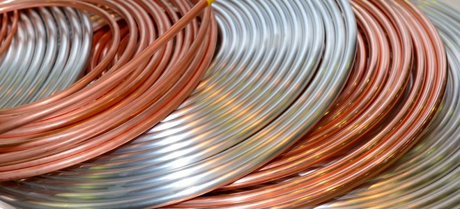 ống kim loại trong cuộn dây
