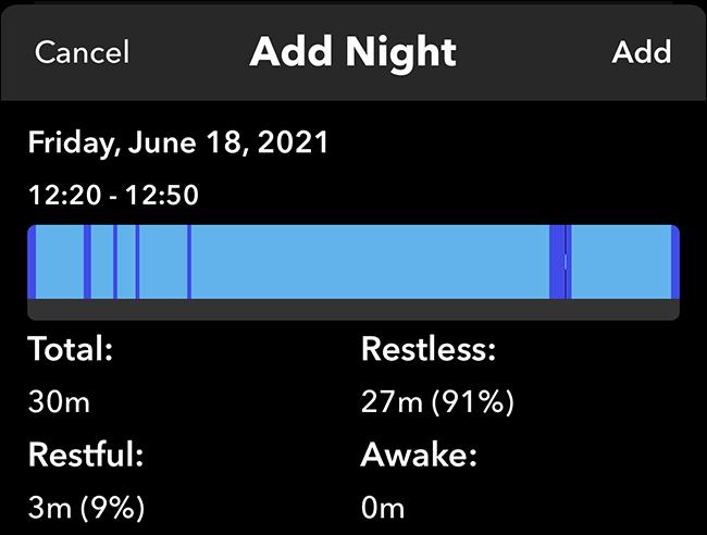 Thêm một đêm trong Sleep ++