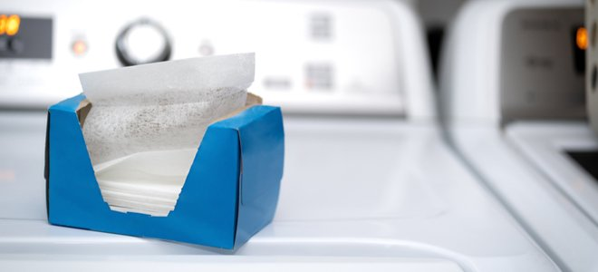 tấm làm mềm vải của máy sấy trên máy sấy