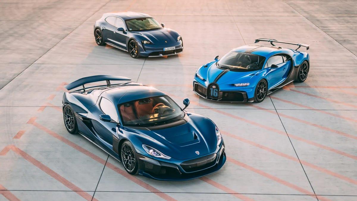 Bugatti Rimac gia nhập lực lượng