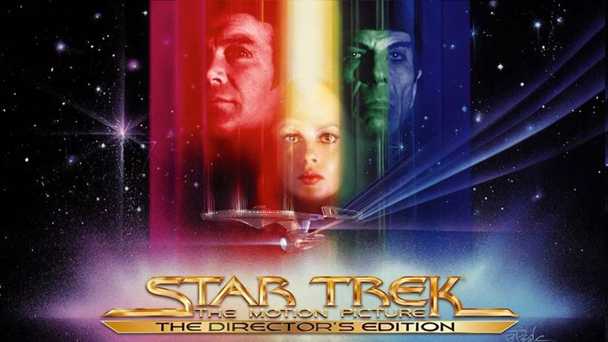 Ảnh bìa của Star Trek: The Motion Picture Director Edition.